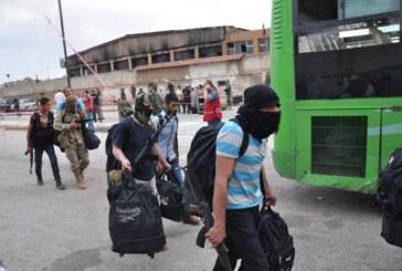 فيديو  الحكومة السورية تستعيد السيطرة على حمص بعد مغادرة آخر المسلحين
