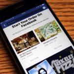 الآن اطلب طعامك عبر تطبيق «فيسبوك»