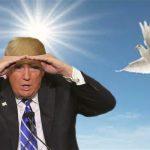 لا يحمل معه مبادرة سلام .. ترامب يسعى وراء «فرصة نادرة للسلام»
