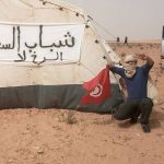 فيديو  اعتصام أكثر من 1500 عامل في مدينة تطاوين التونسية للمطالبة بالعدالة