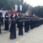 ميليشيا الحوثي تفتح معسكرات لتجنيد النساء في اليمن