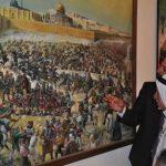 السرد بالألوان في معرض «فلسطين حكاية ولون» بمدينة نابلس