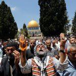 القدس.. 250 ألفا يؤدون صلاة الجمعة في المسجد الأقصى
