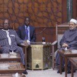 رئيس بوركينا فاسو:نقدر جهود شيخ الأزهر في نشر السلام والتسامح الديني