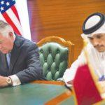 أمريكارفعتالغطاء عن قطر..قبل توقيع اتفاقية منع تمويل الإرهاب