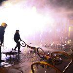 ليلة ثالثة من المواجهات بين الشرطة ومتظاهرين في ألمانيا