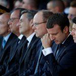 ماكرون يكرم ضحايا هجوم نيس في العيد الوطني الفرنسي