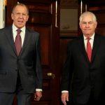 لافروف وتيلرسون يتفقان على الحاجة إلى مفاوضات عاجلة حول كوريا الشمالية