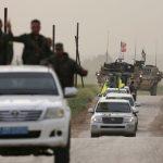 فيديو  قوات سوريا الديمقراطية تدخل الرقة وتسيطر على الرطلة
