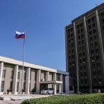 استهداف السفارة الروسية بقذائف في دمشق