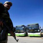 المرصد السوري: دفعة ثانية من مسلحي داعش تغادر جنوب دمشق