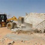 تواصل حملات إزالة التعديات على أراضي «وضع اليد» في مصر
