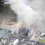حريق في سوق تسوكيجي اليابانية أكبر سوق للأسماك في العالم