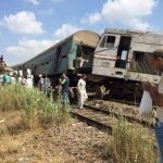 الصحة المصرية: 21 قتيلا و109 مصابا في تصادم قطارين بالإسكندرية