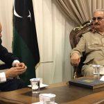 المبعوث الأممي إلى ليبيا يبحث مع حفتر إحياء العملية السياسية