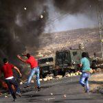 إصابة عدد من الفسطينيين خلال مواجهات مع الاحتلال في الضفة الغربية