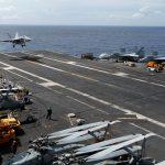 تدريبات لحاملة طائرات أمريكية في بحر الصين الجنوبي مع تصاعد التوتر مع كوريا الشمالية