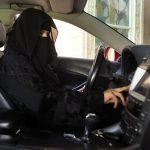 صور  فرحة غامرة بين السعوديات برفع الحظر عن قيادة السيارات في المملكة