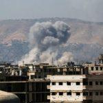 فيديو| مراسلة الغد: طائرات إسرائيلية تستهدف مطار دمشق من خارج الحدود