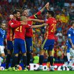 إسبانيا تتأهل لكأس العالم بالفوز بثلاثية على ألبانيا