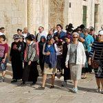 عشرات المستوطنين اليهود يقتحمون الأقصى بحراسة قوات الاحتلال