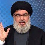 نصر الله: لا نؤيد استقالة الحكومة اللبنانية