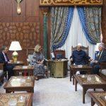 شيخ الأزهر يستقبل مشيرة خطاب مرشحة مصر لمنصب مدير عام اليونسكو