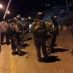الاحتلال الإسرائيلي يعتقل 16 مواطناً في الضفة الغربية