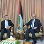 الحمدالله وميلادينوف يبحثان في غزة ملف المصالحة وأزمة الكهرباء