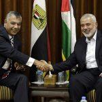 هنية يهاتف وزير المخابرات المصرية