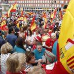 مظاهرة في برشلونة تطالب بالإفراج عن القادة الكتالونيين