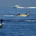 بحرية الاحتلال تطلق قذيفة اتجاه قارب صيد شمال غزة
