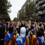 إضراب في كتالونيا احتجاجا على عنف الشرطة الإسبانية