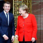 ماكرون يدعو ميركل إلى الانضمام إليه في عملية إصلاح أوروبا
