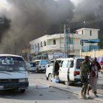 دوي انفجار قوي وإطلاق نار كثيف في مقديشو