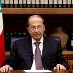 الرئيس اللبناني يحث على إعادة اللاجئين السوريين للمناطق الآمنة