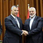هنية خلال لقائه وزير المخابرات المصرية: سنعقد المصالحة مهما كان الثمن