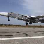 تحطم طائرة حربية روسية في قاعدة حميميم الجوية في سوريا