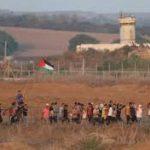 الاحتلال يصيب شابين بالرصاص في غزة