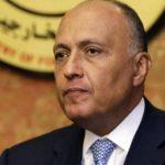 وزير الخارجية المصري: نرفض كافة التدخلات الخارجية في ليبيا