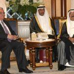 عباس يغادر الكويت بعد لقاء مع الشيخ صباح