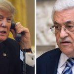 عباس يحذر ترامب من نقل السفارة الأمريكية من تل أبيب إلى القدس