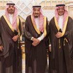 وزيرا الحرس الوطني والاقتصاد يؤديان القسم أمام الملك سلمان