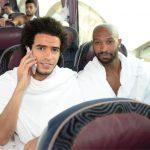 صور| منتخب مصر يصل السعودية لأداء مناسك العمرة