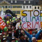 تظاهرة بالآلاف في بون تدعو إلى حماية البيئة بوقف حرق الفحم للطاقة