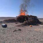 صور| الجيش الثالث الميداني يدمر 5 أوكار للعناصر التكفيرية بوسط سيناء