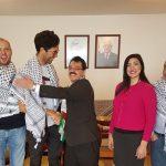 متضامن سويدي يصل سلوفاكيا في طريقه إلى فلسطين مشيا على الأقدام