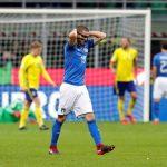 صور| صدمة إيطالية بعد أول إخفاق في التأهل للمونديال منذ 1958