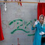 الفنان بانكسي يحفر اعتذارا ملكيا عن وعد بلفور في الضفة الغربية