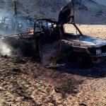 فيديو  الجيش المصري يحبط محاولة لاختراق الحدود الغربية ويدمر 10سيارات محملة بالأسلحة